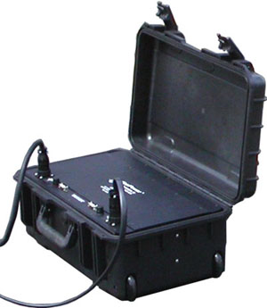 Rechargable Battery Module in rugged transit case