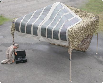 TacticalSolar Tent & Tactical Solar Tents