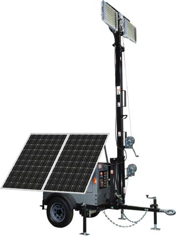 Tactical Solar Lighting System