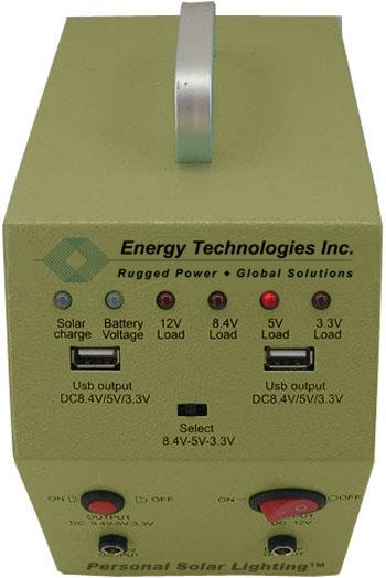 Control Amp Battery Unit